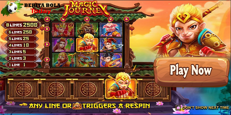 Slot Online Magic Journey